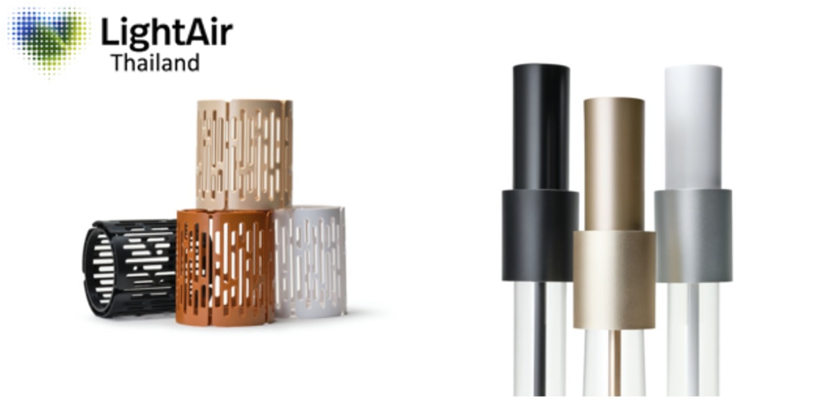 lightair ionflow air purifiers color options