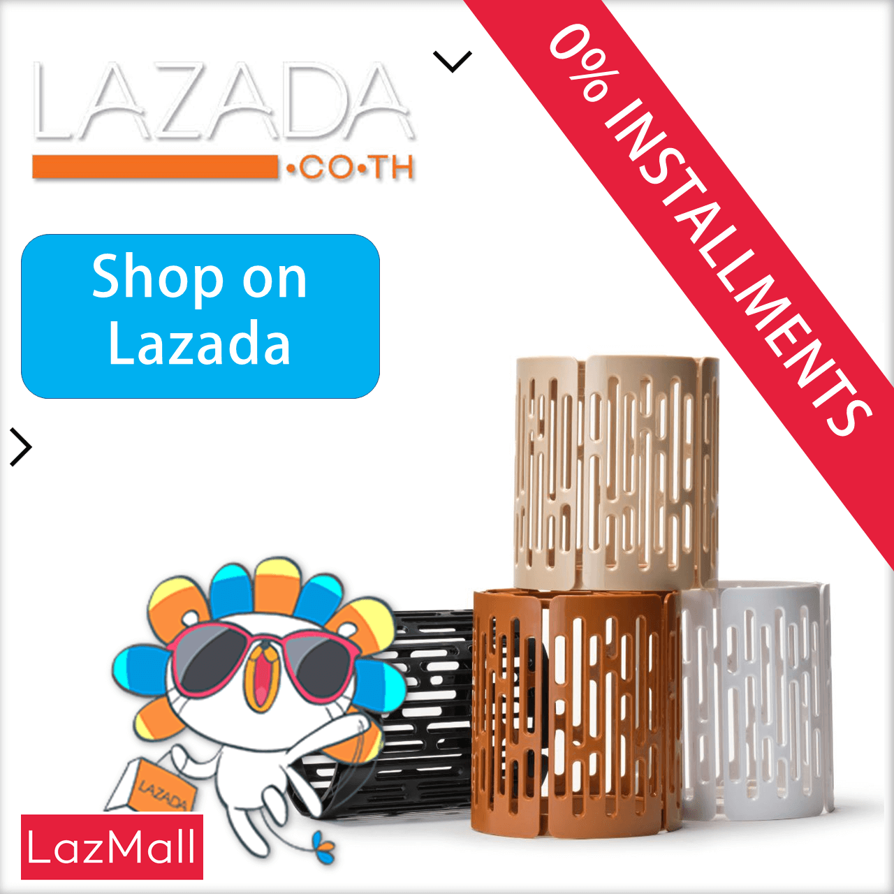 checkout at Lazada